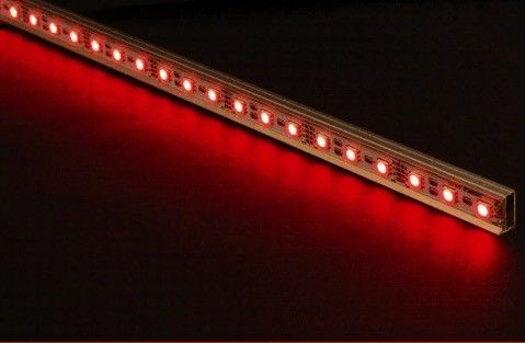 Aluminum SMD 3528 / 5630 Side Emitting LED Strip Lights 12V Rigid Multi Color