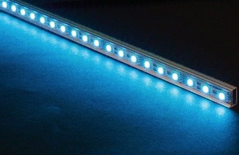 SMD 3528 SMD RGB LED Strip Light 4 Mm Width Epistar Chip With Aluminum Housing